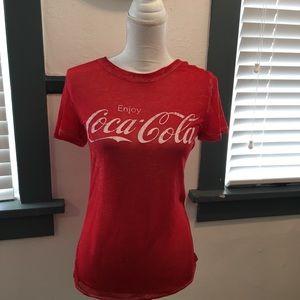 Enjoy Coca Cola Lightweight Short sleeve T. XS
